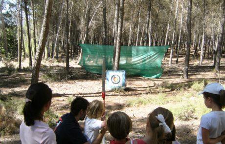 Tiro con arco Real Sociedad de Tiro de Pichón de Granada