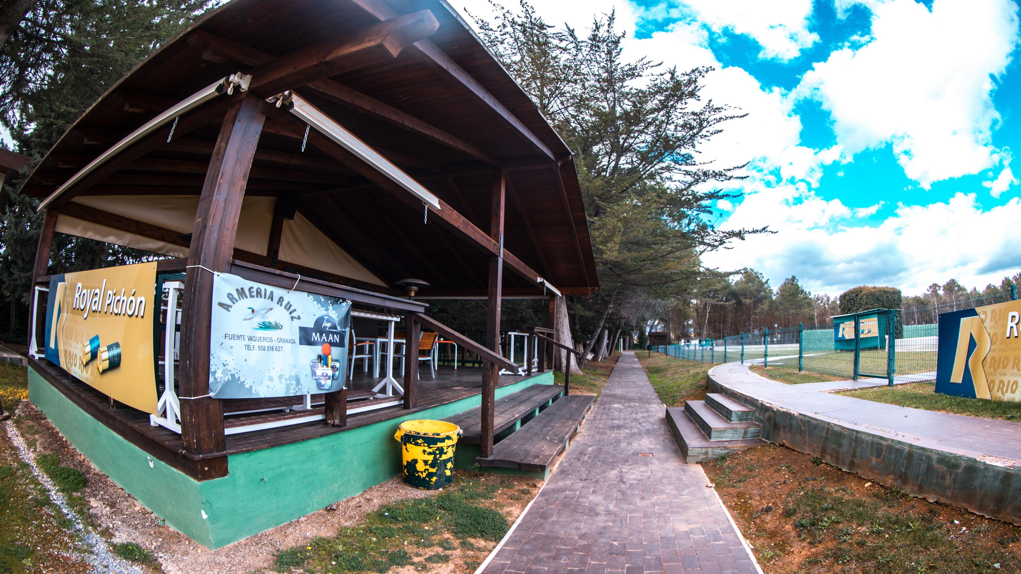 Zona-de-descanso-de-Tiro-Real Sociedad de Tiro de Pichón de Granada