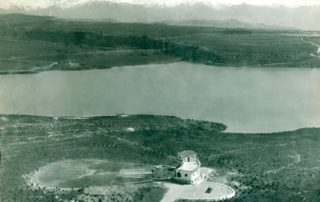 aéreo antiguo Real Sociedad de Tiro de Pichón de Granada