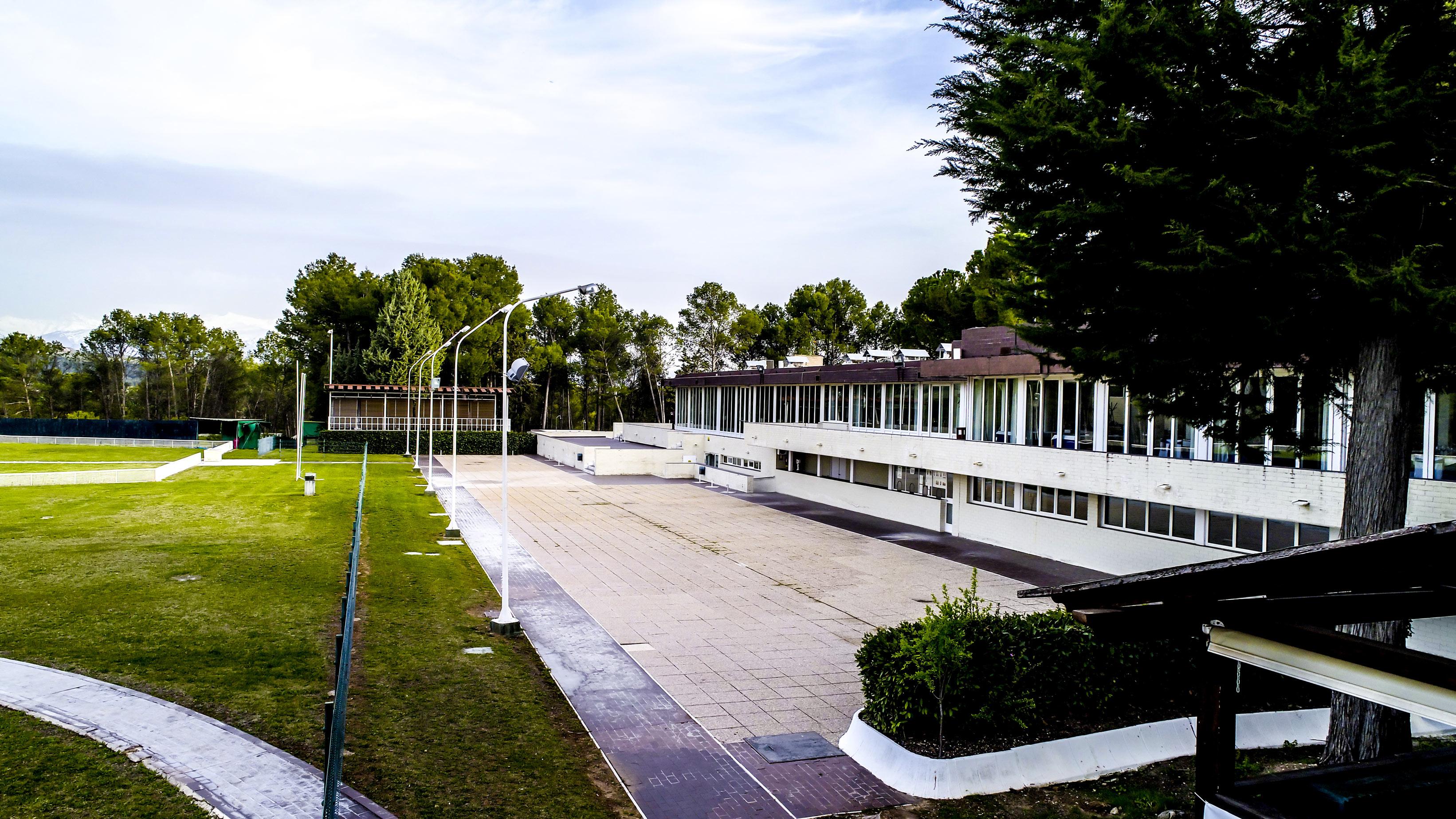 Instalaciones Eventos restaurante Real Sociedad de Tiro de Pichón de Granada