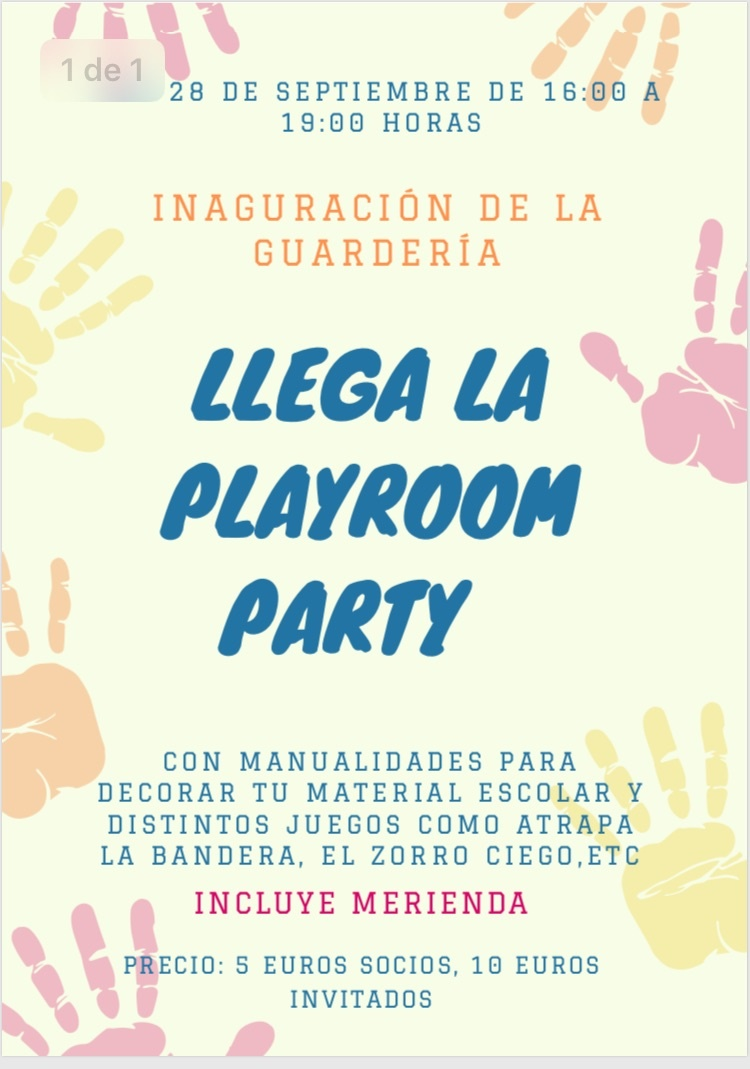 PLAYROOM PARTY 2019