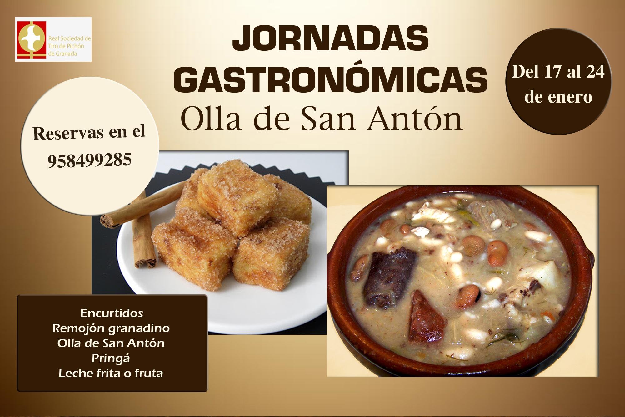 JORNADAS GASTRONÓMICAS (OLLA DE SAN ANTÓN 2020)