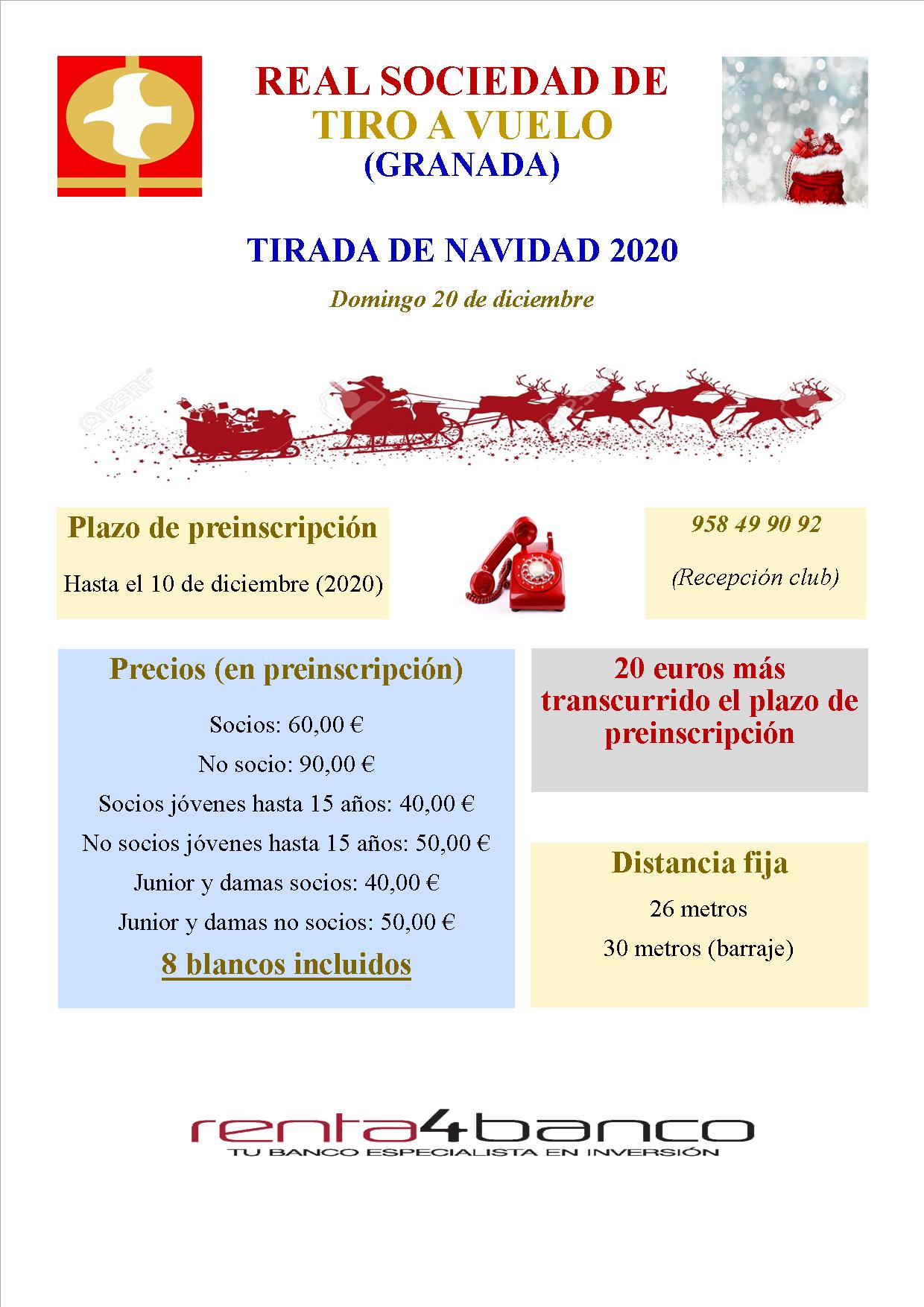 TIRADA DE NAVIDAD 2020